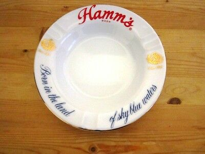Vintage 1960's Hamm's Beer Ashtray