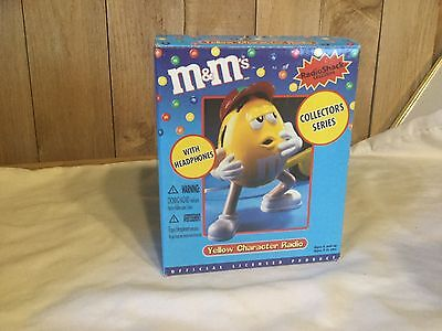 M&M's Yellow Character Radio Collecters Series