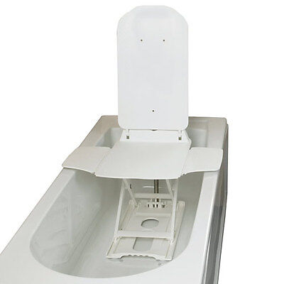 Bathmaster Deltis Lightweight Mobility Bath Lift With White Covers (2016 Model)