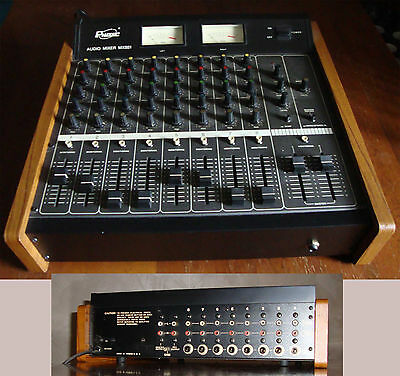 Phonic MX881 Audio Mixer 8in 2out