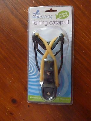 Brand New And Factory Sealed '' Fishing Catapult '' With Wrist Support
