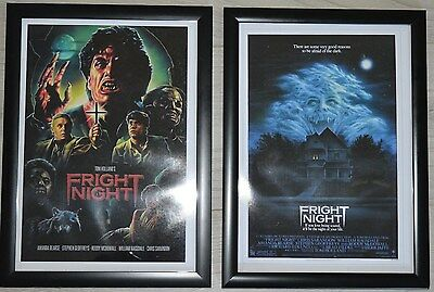 Fright Night A4 Framed Movie Pictures