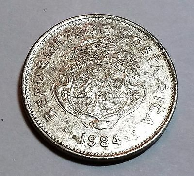 1984 1 Colon Costa Rica Coin
