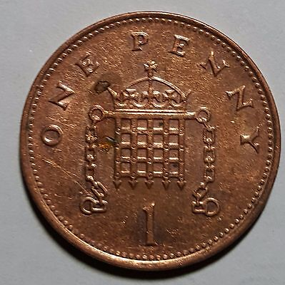 1998 One Penny Great Britain/UK Coin