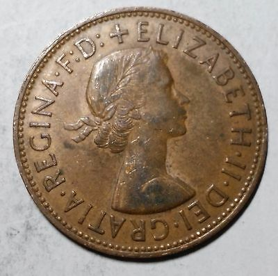 1965 One Penny Great Britain/UK Coin