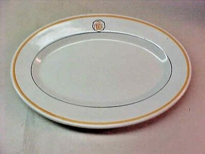 "Sinclair Oil Vintage "" Parco "" Oil Platter 9 1/2 by 6 1/2 Inches"
