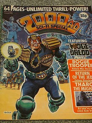 2000 AD Sci-fi special 1983 (with Star Wars feature)