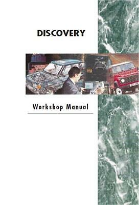 Land Rover Discovery series 1 Workshop Manual + Engine and Gearbox overhaul