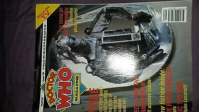Doctor Who Magazine issue 184