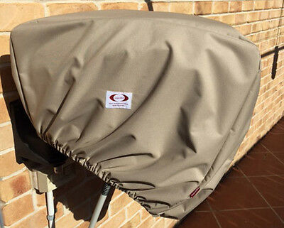 Taupe/Fawn Retractable Hose Reel Cover Weatherproof with UPF30+