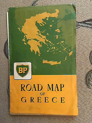 A Road Map of Greece, 1958