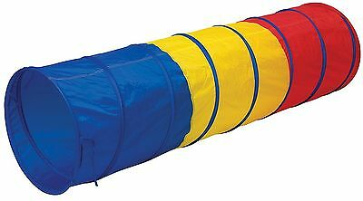 Pacific Play Tents Kids Find Me Multi Color 6 Foot Crawl Tunnel - Red Yellow ...