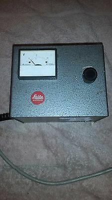 Leitz Microscope lamp Power supply.