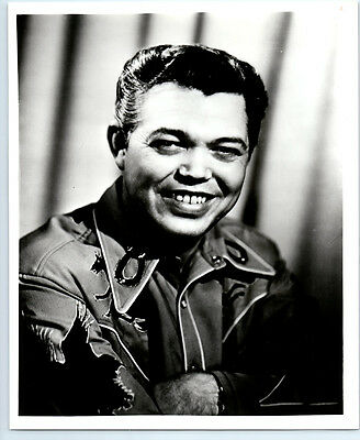 Fiddler WADE RAY Vintage WESTERN SWING Publicity Photo COUNTRY MUSIC