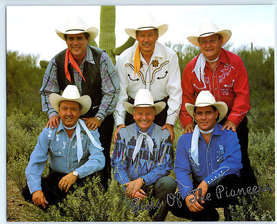 Vintage SONS OF THE PIONEERS Publicity Photo COUNTRY MUSIC