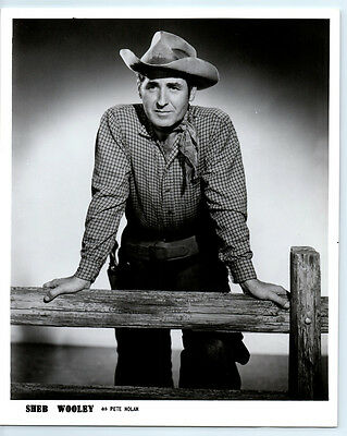 1960's SHEB WOOLEY Vintage RAWWHIDE'S PETE NOLAN Publicity Photo COUNTRY MUSIC