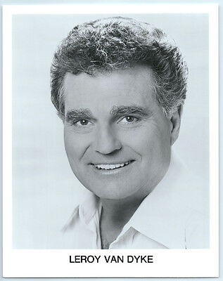 Vintage LEROY VAN DYKE Publicity  Photo COUNTRY MUSIC Grand Ole Opry