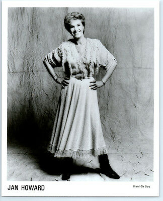 Vintage JAN HOWARD Publicity Photo COUNTRY MUSIC Grand Ole Opry