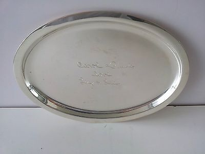 Tiffany & Co Sterling Silver 925 Tray # 23919