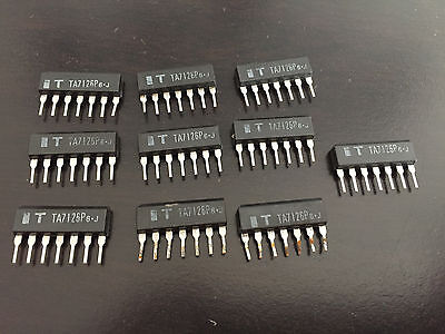 TA7126P 10Ct Integrated Circuit IC New Old Stock US Seller