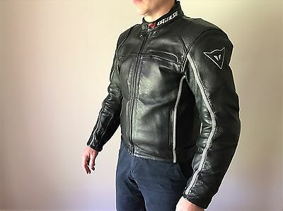 Dainese G. SF Pelle  Leather Motorcycle Jacket