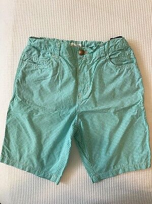 Country Road Boys Green Check Shorts Size 12