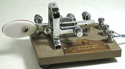Vibroplex Original Keyer Circa 1961?  Nice Shape Great Chrome