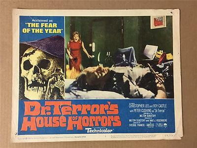 Lady discovers dead man Dr.Terror's House of Horrors 1965 #7 lobby card 1144