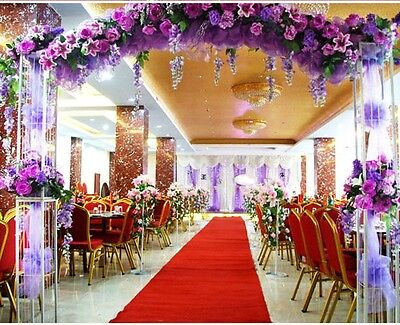 Once Celebrity Floor Runner Red Carpet Party Wedding Disposable Scene Decoration