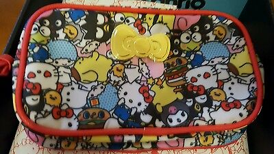 LOOT CRATE x SANRIO Limited Edition Hello Kitty & Friends Pouch NWT