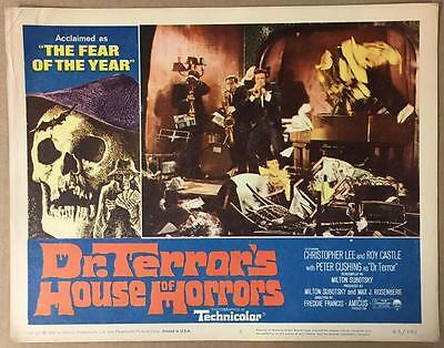 Russ Henderson Steel Band Dr.Terror's House of Horrors 1965 #5 lobby card 1143
