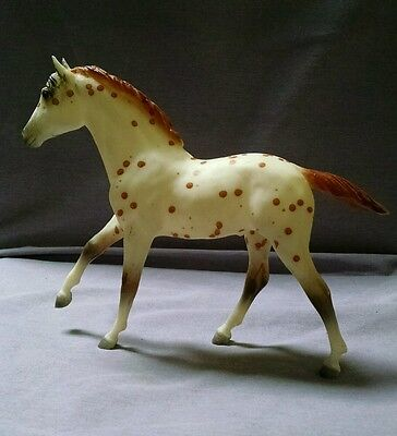 Breyer Traditional Action Stock horse foal in red leopard
