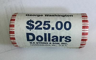2007-S $1 George Washington  Presidential Dollar. UNOPENED ROLL
