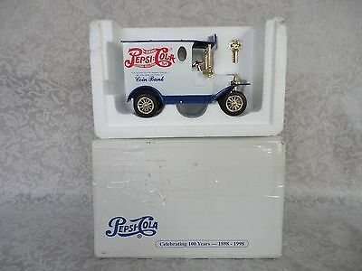 Pepsi Cola - Celebrating 100 Years (1898-1998) Coin Bank