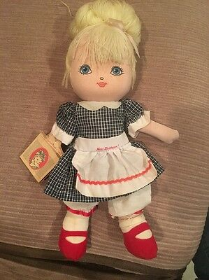 Miss Sunbeam Plush Doll Toy Vintage 1970's Checkmate Promotions Rare Find