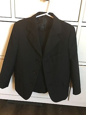 Black Suit With Jacket And Pants Size 4t