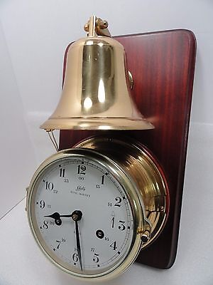 Schatz Royal Mariner Clock West Germany Vintage -  With Broken Case Parts Repair