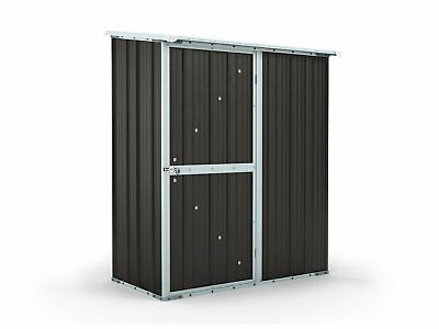 Garden Shed 1.55m x 0.79m x 1.92m Ironsand Small Storage Sheds Colorbond NEW