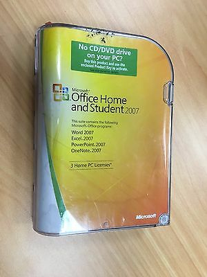 Office Home and Student 2007 with Activation Product Key 3-Home PC Licence