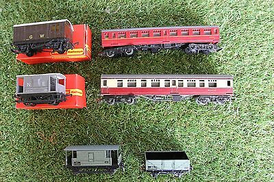 hornby/meccano carriages