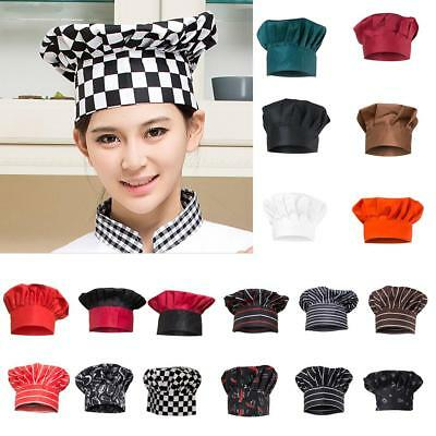 MagiDeal Chef Hat Adult Elastic Catering Baker Kitchen Adjustable Cook Hat Cap