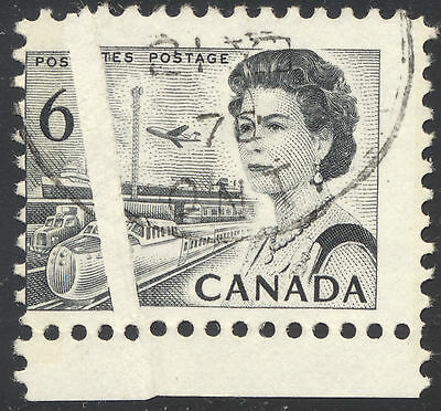 VF Used 6¢ Centennial with Scarce PRE-PRINTING PAPER CREASE