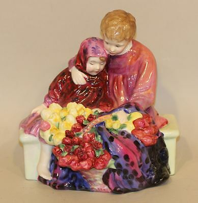 Royal Doulton Figurine Flower Sellers Children HN1342 HN 1342 L. Harradine AS IS