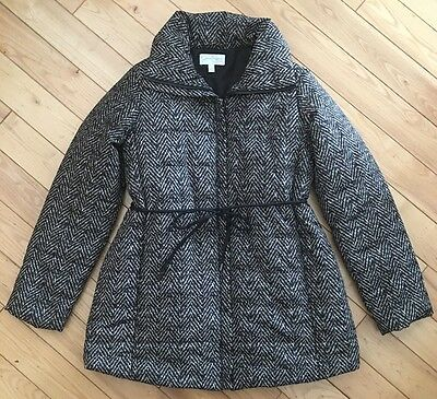 NWOT ~ JESSICA SIMPSON Maternity Women's Quilted Jacket Coat ~  Small