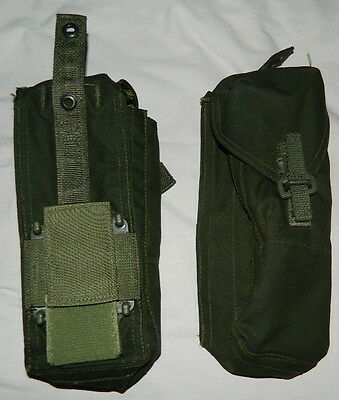 Canadian Military #7101 Long FN-C2 Pouch Mag Pouch Webbing New 82 Pattern Pair