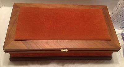 Vintage La Mode Men's Jewelry Presentation Display Case-With Jewelry Pouches