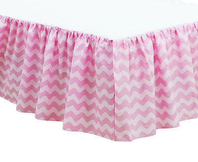 Little Haven Cassidy Cot Valance - Pink