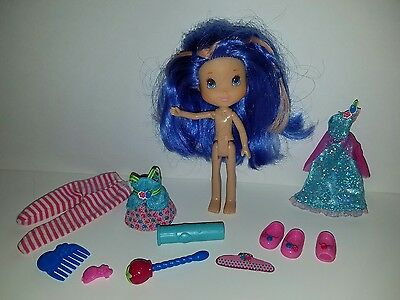 Strawberry Shortcake Doll Color Change Magic Berry Blends Blueberry Muffin