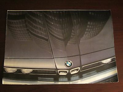 1984 BMW Full Line Fold Out Brochure