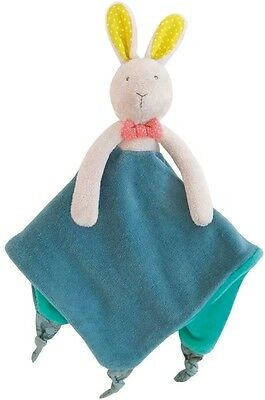 Moulin Roty Mademoiselle et Ribambelle Bunny Lovey Security Blanket 657016 NEW